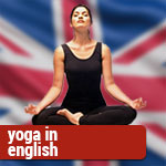 yoga in english