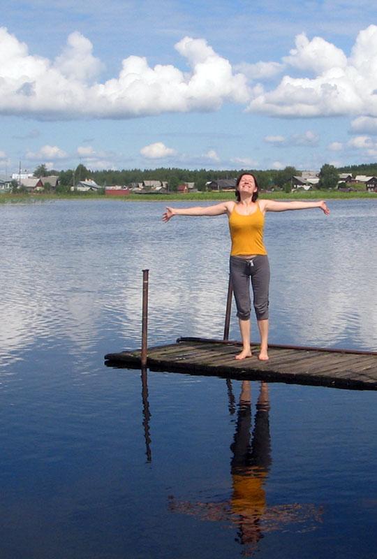 Колесникова Ольга — инструктор по йоге для беременных